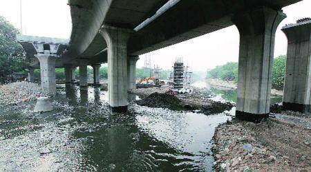 Hyderabad: Drain in Dharani Nagar spills thick toxic foam