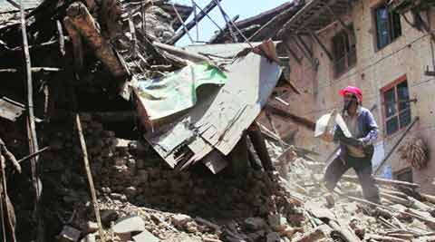 Nepal Earthquake, Nepal, Earthquake, Nepal normalcy, Earthquake Kathmandu, Kathmandu earthquake, nepal earthquake 2015, nepal earthquake disasters, nepal news, indian express