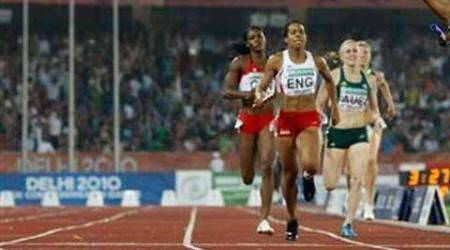 Sprinter masquerades as another in farcical relaytrials