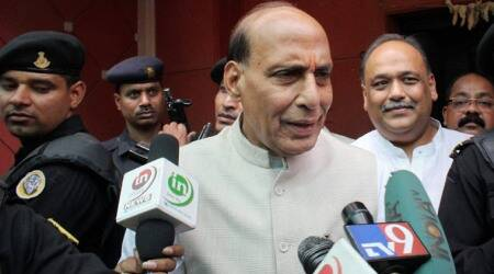 Rajnath Singh promises to inspect Bangla border with AASU