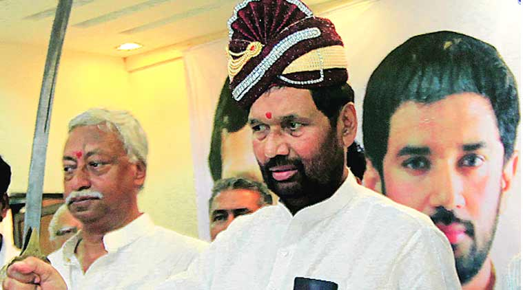 Bjp Has Issued Notices To Some People But Notices Not Enough Ram Vilas Paswan India News The Indian Express