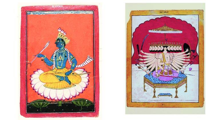 101 miniature paintings from India to tell the story of the