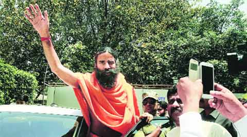 ramdev, rss, rss yoga campaign, ramdev rss, rss ramdev, ramdev news, rss news, india news, indian express