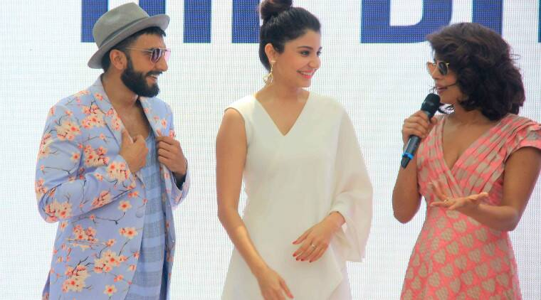 The 'Dil Dhadakne' Do cast attended a brunch on Sunday (May 3) as they kicked off promotions for the film.