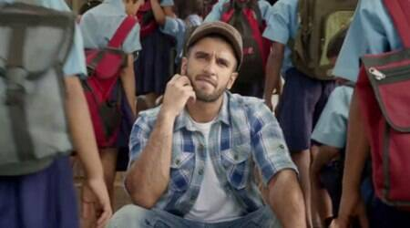 Ranveer Singh stars in a heartwarming ad for mid-day meal programme, watch