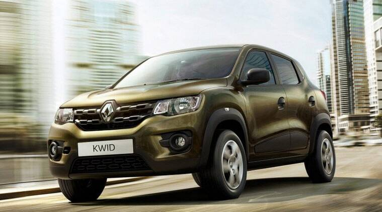 new car launches newsRenault unveils entrylevel Kwid hatchback  The Indian Express