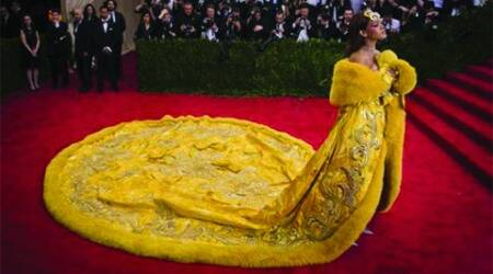 Rihanna's Met Gala outfit took two years to make