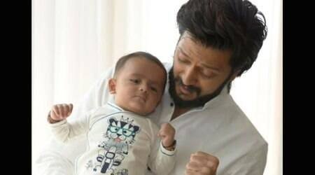 Riteish Deshmukh shares son Riaan's first picture for fans