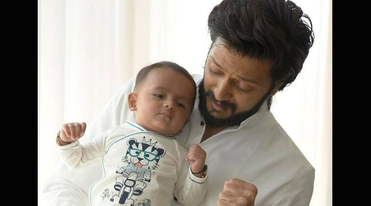 Riteish Deshmukh shares son Riaan's first picture for fans | The ...