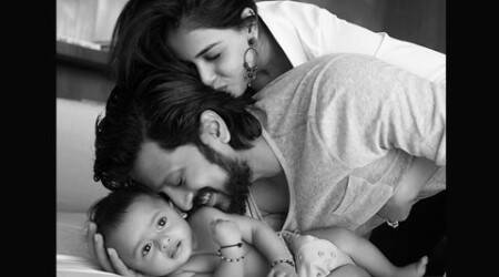 Riteish Deshmukh shares first picture of his son on Twitter