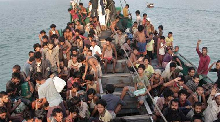 Rohingya refugees, Rohingya-Myanmar, Myanmar news, Myanmar refugees-Bangladesh, Bangladesh news, Rohingya migrants, world news, Indian Express