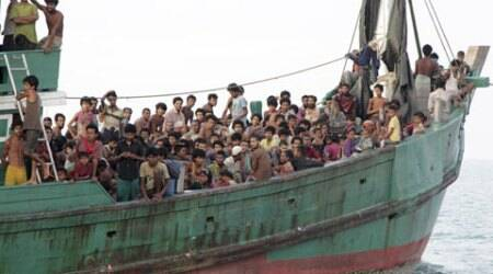 A 10-year-old Rohingya migrant recounts the horror of his boat journey to Indonesia