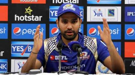 We were under pressure, rain break helped: MI captain Rohit Sharma