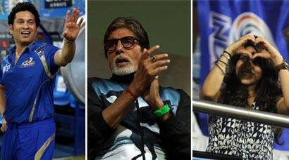 Sachin Tendulkar, Amitabh Bachchan, Rohit's fiancee Ritika cheer as MI reach final