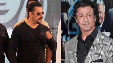 Salman Khan, Sylvester Stallone, Salman Khan stallone, salman khan sylvester stallone, salman khan news, entertainment news