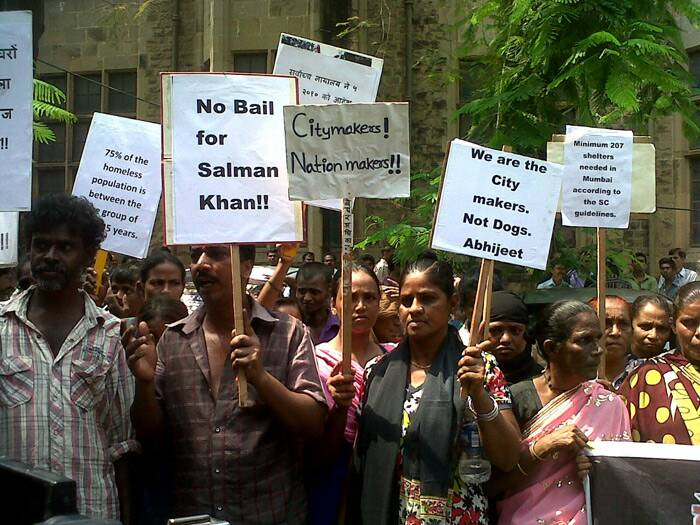 Salman Khan bail, Salman Khan, Salman Khan verdict, Salman Khan protest photos