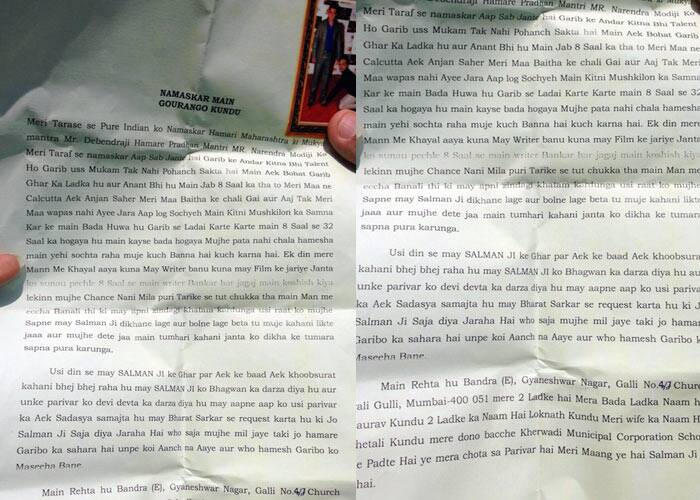Salman Khan fan suicide note, Salman KHan bail