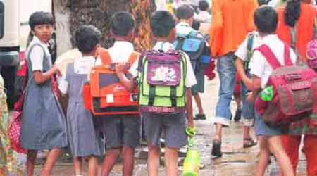 Thane civic body to do away with school bags in Classes I, II