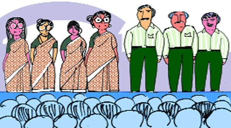 The male teaching faculty will be in ivory green-striped shirts, combined with dark green trousers. The women teachers will be dressed in uniformly printed sarees.