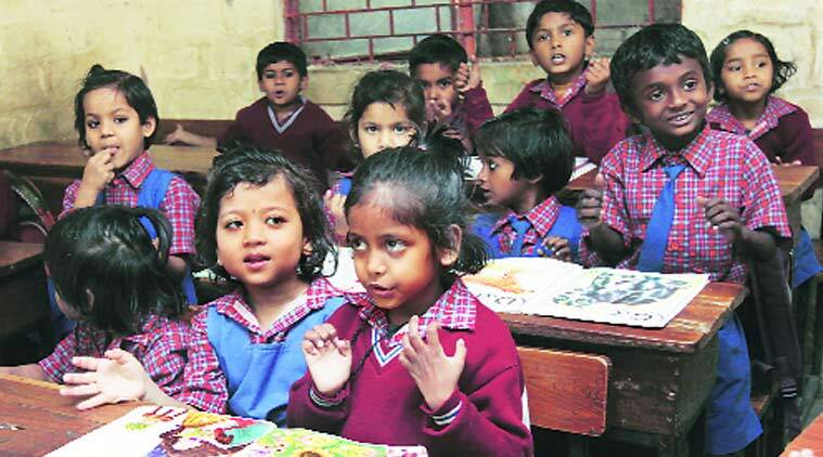 low education in india