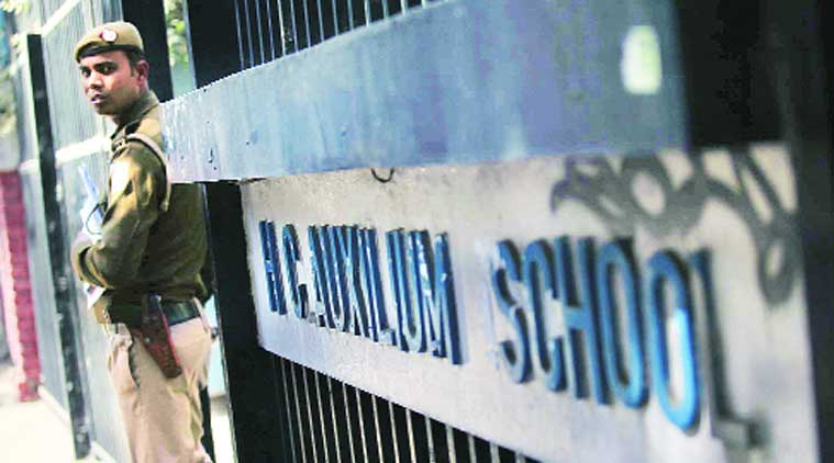 Auxilium School, vandalised, christian community, christain community attack, school vandalised, delhi police, robbery, delhi robbery, school robbery,delhi news, city news, local news, Indian Express