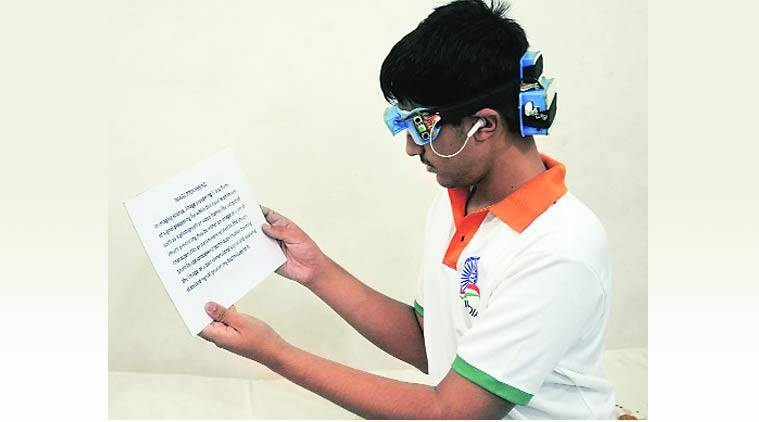 nagpur science fair, intel science fair, autoreader, blind reader, reader for the blind, nagpur scientist, nagpur inventor, nagpur news, science news