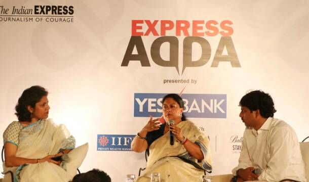 Express Adda with Vasundhara Raje