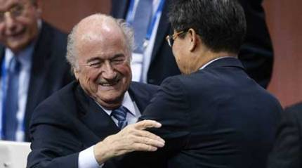 Blatter elected unopposed as FIFA president, once again