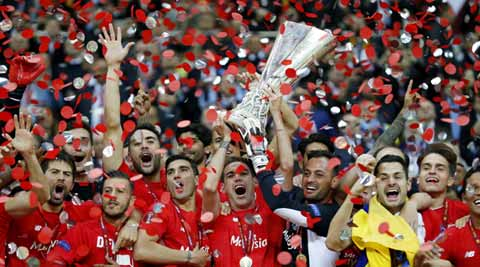 Sevilla, Sevilla vs Dnipro, Sevilla Dnipro League Cup, Sevilla vs Dnipro football, Dnipro Dnipropetrovsk, Europa League, Europa League Title, Sports News, Sports