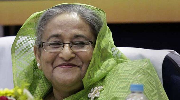 Bangladeshi PM Sheikh Hasina.