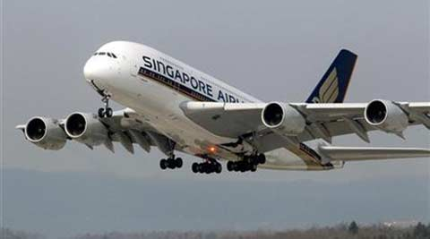 Singapore Airlines, Singapore flight, Singapore plane power, Singapore flight engine, Singapore Airlines engine, Singapore Airlines flight