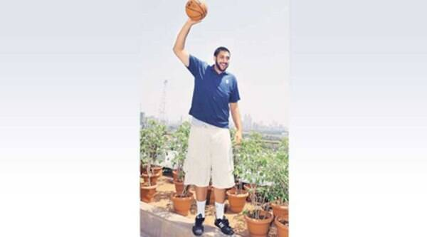 Sim Bhullar during a press conference in Mumbai on Saturday.  PTI