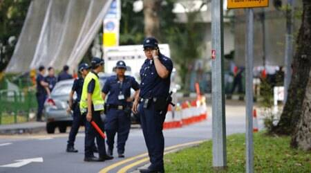 Singapore shootout: Police kill man near conference attended by US defencesecy