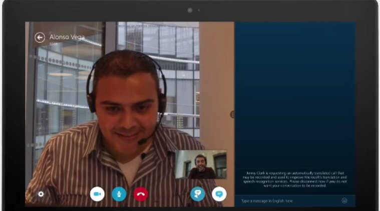 Skype Translator is now available to all. (Source: Skype screenshot)