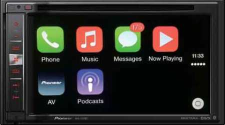 Pioneer AVIC-F970BT with Apple CarPlay launched in India at Rs 39,990