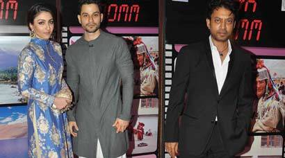Soha, Kunal, Irrfan, Gul at J&K CM Mufti Mohammed Sayeed's party