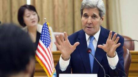 US Secretary of State John Kerry in Seoul after North Korea muscle flexing