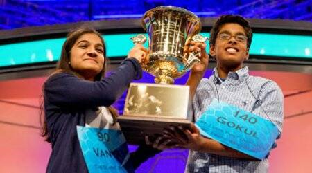 Indian-American teens emerge co-champions in National Spelling Bee competition