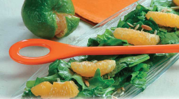 Express Recipes: How to make Spinach Orange Salad