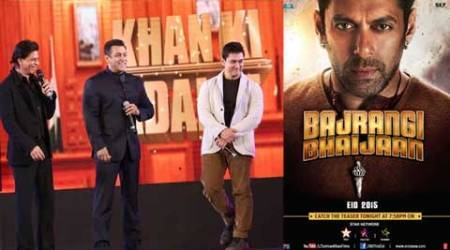 Salman Khan thanks SRK, Aamir for tweeting 'Bajrangi Bhaijaan' look, reveals poster