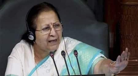 Congress, Congress Lok Sabha, Lok Sabha Speaker, Lok Sabha speaker partiality, partiality lok sabha speaker, congress partiality, partiality lok sabha, lok sabha session, sumitra mahajan, lok sabha news, news lok sabha, india news
