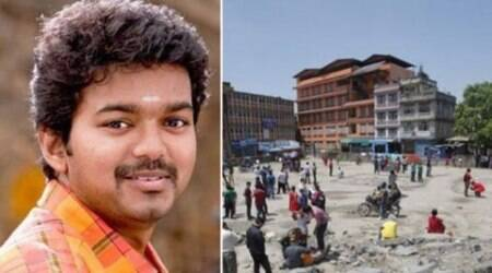 Nepal earthquake, Kathmandu, earthquake News, Superstar Vijay, Vijay Makkal Iyakkam, Vijay Nepal earthquake, Vijay Donated Clothes, Vijay Donated Medicines, Vijay Nepal Victims, Superstar Vijay Fans, Vijay in Cambodia, Entertainment news
