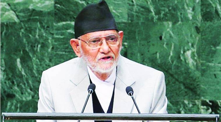 nepal earthquake, sushil koirala, sushil koirala nepal earthquake, nepal earthquake relief, earthquake relief, kathmandu news, world news