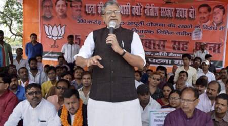 sushil kumar modi, sushil modi, bihar polls, bihar polls 2015, BJP, JD(U), Hindu, Muslim, bihar communal tension, Indian Express investigation, communal tension, india news, news