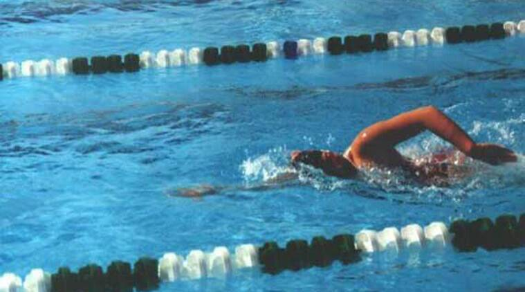 National swimmer harrased, bangalore swimmer harrased, indian swimmer harassed, Mathikere swimming pool, Bangalore news, india news, indian express