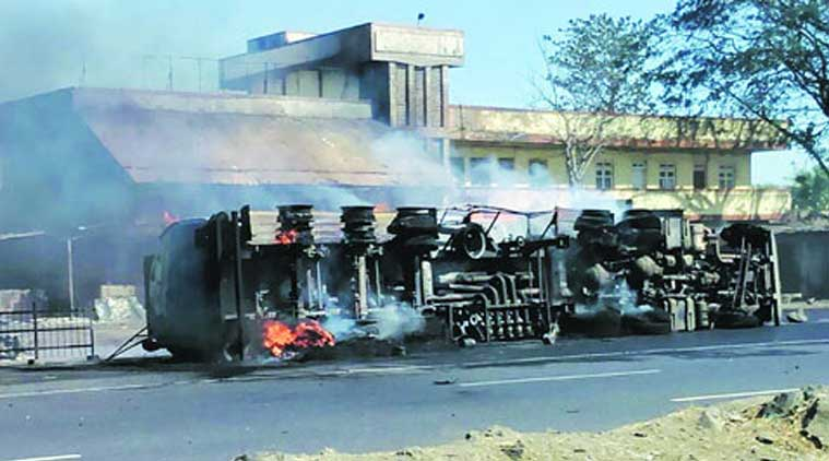 Allahabad High Court, Indian Oil tanker, oil tanker fire, fire, fire accident, IOCL, lucknow news, city news, local news, UP news, Indian Express