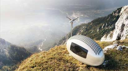Ecocapsule: A portable house that lets you live anywhere in the world