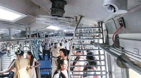 Western Railway installs first CCTV system inside local train
