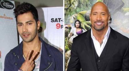 Dwayne Johnson thanks Varun Dhawan for birthday wishes