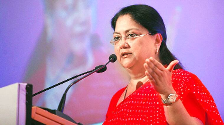 vasundhara raje, vasundhara raje profile, rajasthan assembly election results 2018, Rajasthan news, India news, Indian Express